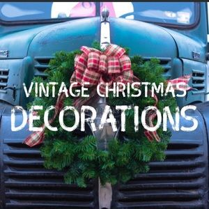 Other - Vintage Christmas decorations